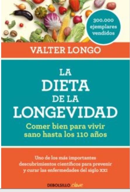Valter longo dieta longevidad